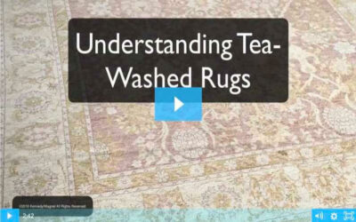 Tea-Washed Rugs