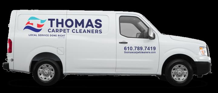Thomas Carpet Cleaners Van