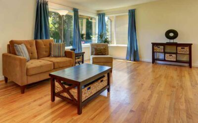 What can I do to keep my wood floors shiny once you have cleaned them?