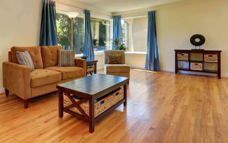 What can I do to keep my wood floors shiny