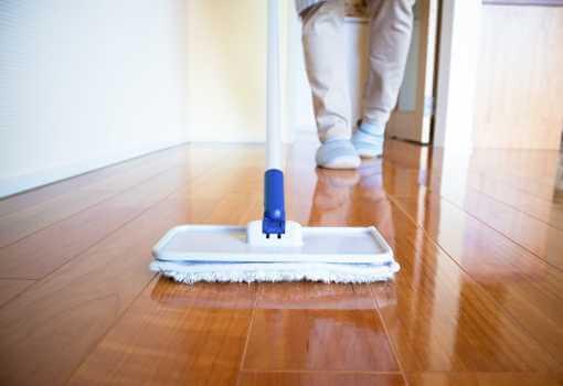 Mop Hardwood Floor